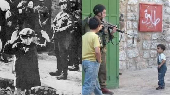 Comparando el holocausto deplorable con lo que ahora hace Israel en Palestina. Cambiamos de siglo en vano.