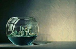 Las ciudades están enfrascadas en sí mismas, no prestan atención a la naturaleza sino un rato en vacaciones, a veces y sólo algunos.
