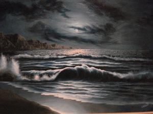 El mar colmado de poesía y música, lleno de vida y alimentos.