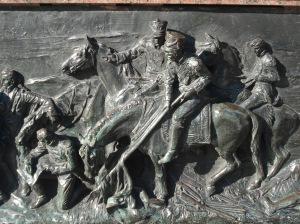 El uso hábil del caballo como instrumento facilitador en la guerra, hizo más parejas las fuerzas que cuando los españoles debían enfrentar a los nativos en las primeras épocas de la cruel invasión y saqueo llamada conquista.