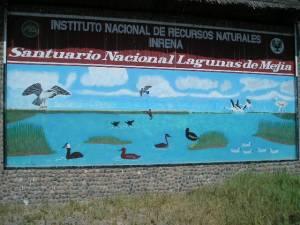 Instituto Nacional de Reservas Naturales INRENA en Perú.