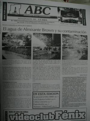 FILATINA ha publicado reiteradamente durante muchos años, CON FOTOS PROBATORIAS el problema, y si bien SIEMPRE HUBO AUTORIDADES COBRANDO SUELDO para resolver el problema, NO SE RESUELVE.