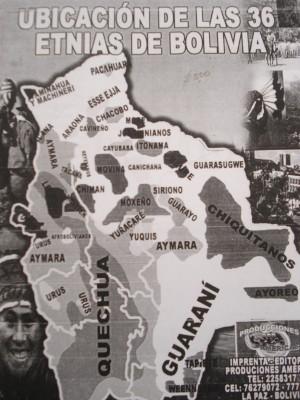 Libro ofrecido para conocer la ubicación de las comunidades en el hermano país de Bolivia.