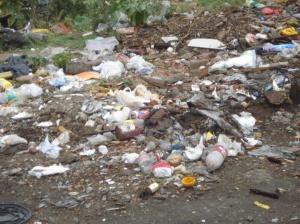 La basura arrojada por cualquier sitio habla de la ausencia de autoridad, del libertinaje ambiental de habitantes ambientalmente irresponsables.