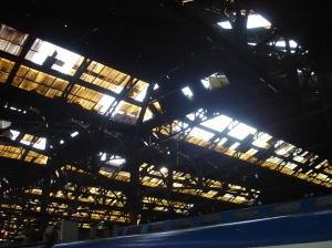 Los techos de las principales estaciones La Plata y Constitución son un desastre: ni los vidrios se limpiaron ni se repusieron durante todos los años de la concesión.