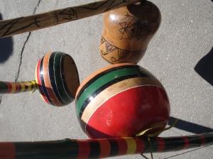 Segmento del BILIMBAO que hace de caja de resonancia, amplificando el sonido de la vibración de su única cuerda.