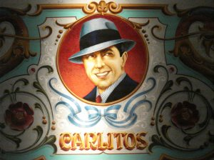 Carlos Gardel, el mejor cantor de tangos de todos los tiempos.