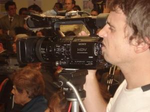 Voy a filmar lo que sucede en Buenos Aires y vamos a usarlo para publicar en los medios masivos por estos sitios.