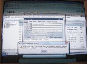 La aparición de FILATINA en listas negras en Uruguay, anunciadas como se observa en el cartel que sale al intentar enviar cualquier mail desde nuestra cuenta de adinet, la empresa uruguaya de mails, es clara y concisa: no podemos enviar mail alguno, y estamos incomunicados. ¿Podría pasar ésto también con otras cuentas de internet? Podría una Organización DESAPARECER VIRTUALMENTE POR ARBITRARIA INCOMUNICACIÓN A TRAVÉS DE LISTAS NEGRAS?