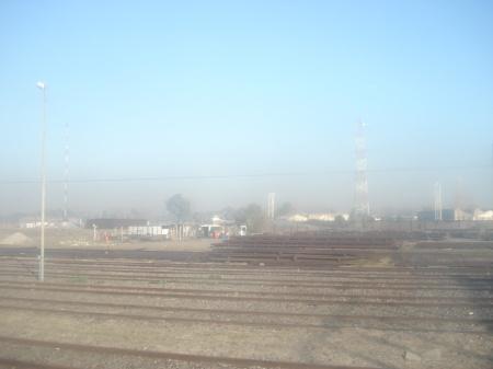 Los aires turbios no son sólo en Capital Federal, llegan hasta Témperley por el Sur y ya se unen al Parque Industrial de Burzaco.