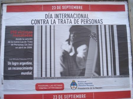 La trata de personas debe prevenirse, e impedirse, todo el año.