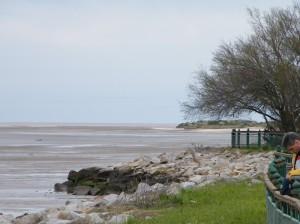 Paisajes costeros, variados, vastos, interminables: algunos adultos, vieron por primera vez el mar durante este Congreso Iberoamericano de Educación Ambiental 2009.