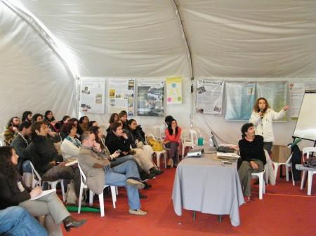 Congreso de Educación Ambiental: se trata el tema de polución electromagnética en algunos de los talleres ambientales a los que asistió FILATINA.