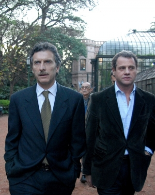 Juan Pablo Piccardo, ministro de Espacio Público de Macri es el responsable de la violencia.