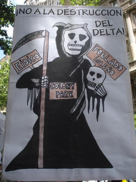 No a la destrucción del Delta. Una férrea defensa de los vecinos. Todos estamos involucrados en todo.