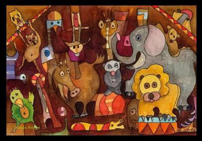 Modernos sistemas de látigos culturales amanzan, adiestran, convencen a nuestros mejores leones, que aceptan vivir enjaulados en autolimitaciones. Comentario por Pablo Padrón, con foto prestada que agradecemos.