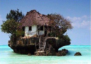 Casa en el mar, un paraíso sujeto a sunamis.