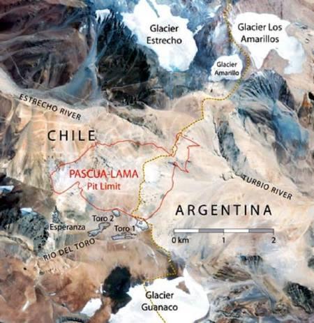 GRAVÍSIMO! Problemas ambientales serios en GLACIARES de Argentina y Chile: las mismas empresas, el comportamiento de invasores, los políticos en (ni) reacción lenta.  Se denota nota corrupción.