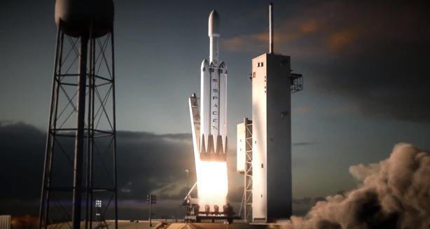 Cohete Elon Musc de Space X