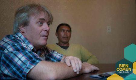 El legislador Vera y Eduardo Díaz Q'om