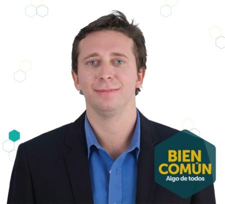 Lucas Schaerer, el denunciante y candidato a legislador porteño
