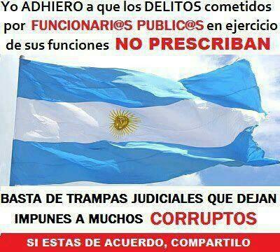 Basta de corrupción