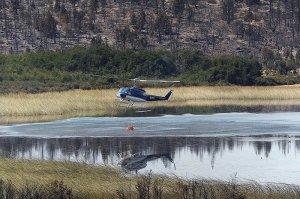 Bosque helicóptero carga