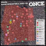 Mapa de la mafia en Once