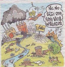 Argentina está ensuciada además de por la corrupción que contamina y mata, por contaminación que contamina y mata.