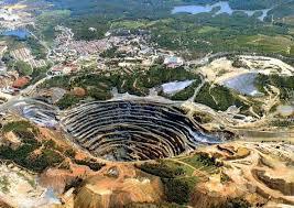 minas a cielo abierto