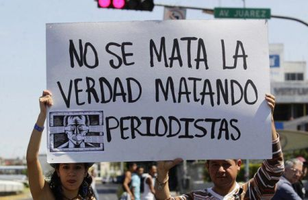 Matar periodistas Mx