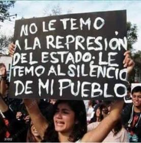 Silencio del estado y del pueblo