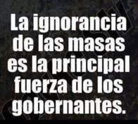 ¡ Ignorancia
