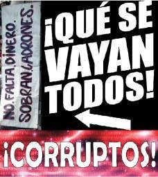 corrupción no más