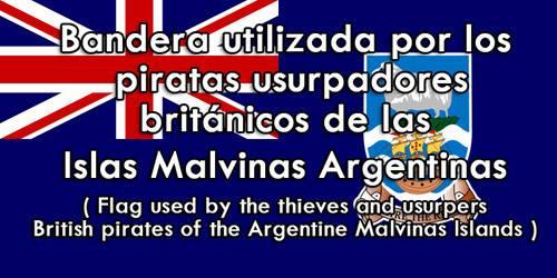 Malvinas bandera de los piratas