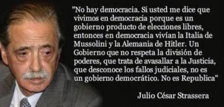 !No hay democracia