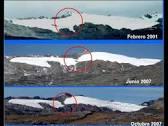 Glaciares peruanos en retroceso 2016