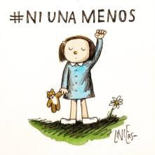 Muerte de mujeres que encubre el machismo desencajado de miles de hombres y mujeres de Argentina y el resto del mundo.