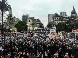 Santiago Maldonado ApARICIÓN CON VIDA