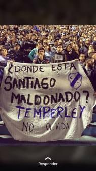 Santiago Maldonado TÉMPERLEY